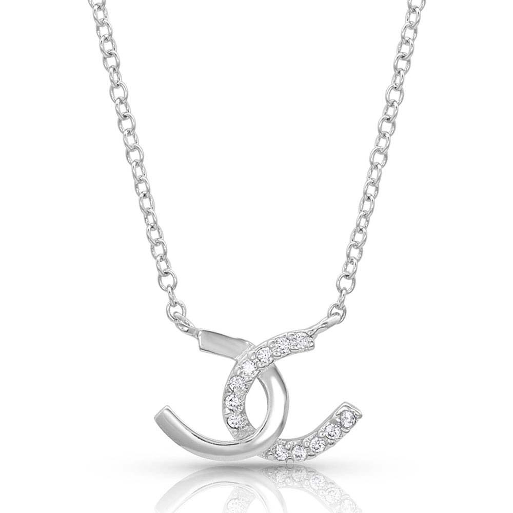 Horseshoe Happiness Necklace
