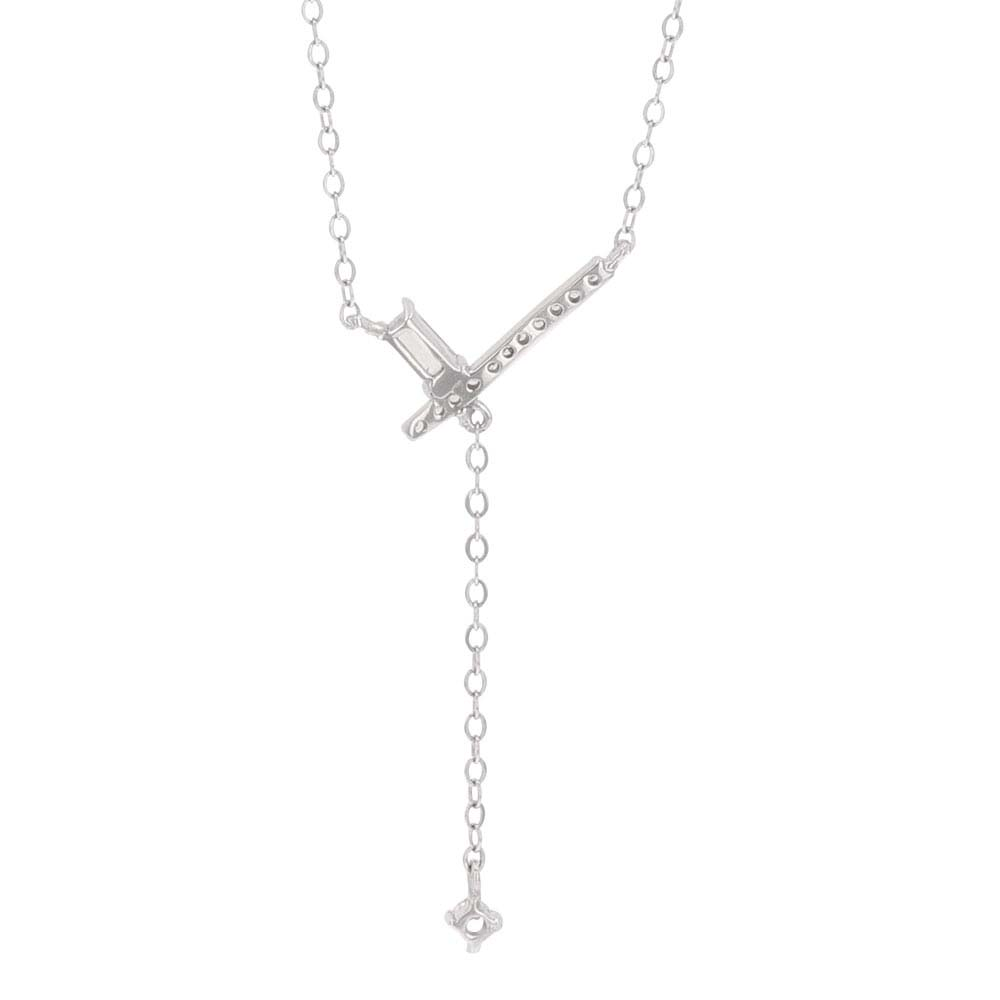 The Crossing Y Necklace
