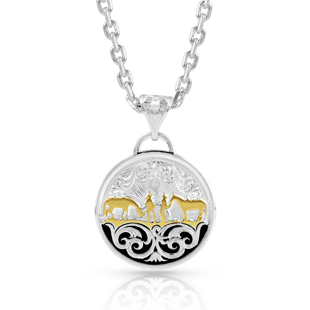 Between Friends Concho Necklace