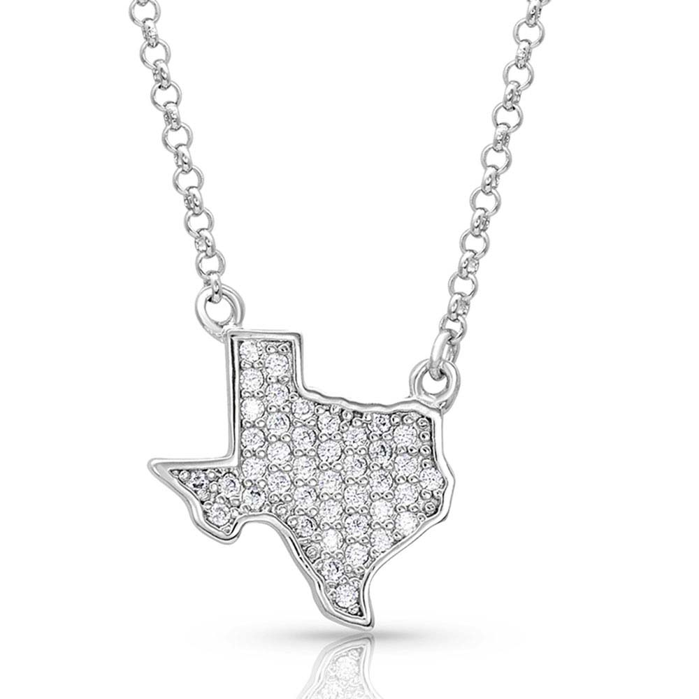 Bright Lights Sparkling Texas Necklace