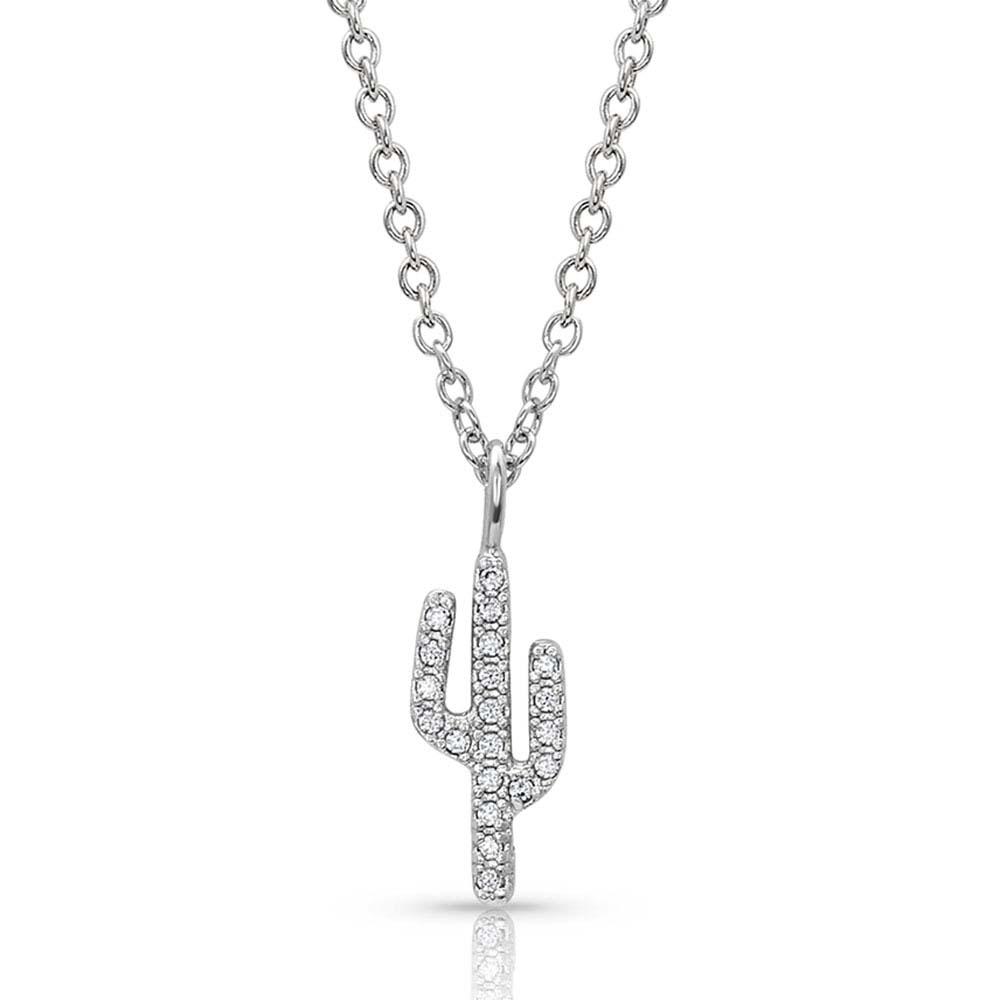 Petite Cactus Necklace