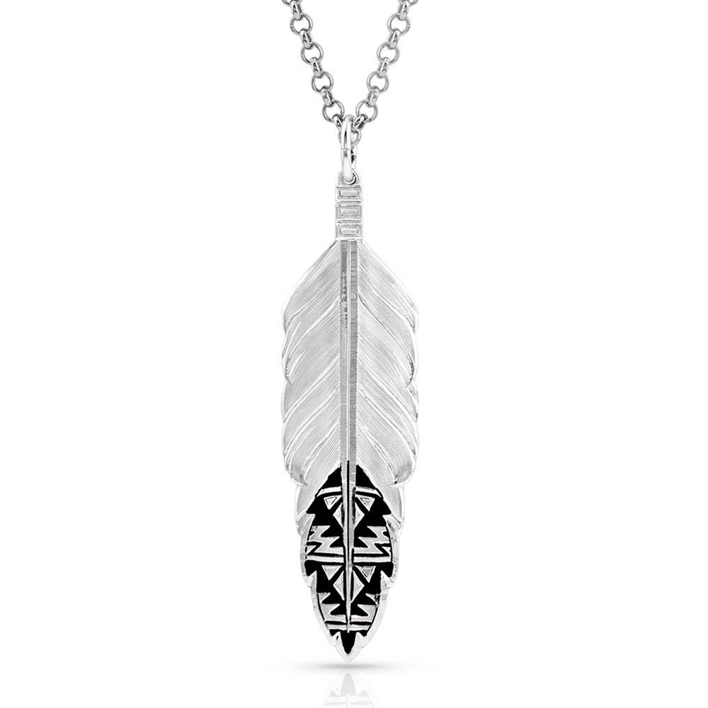 Sedona Ranch Feather Necklace