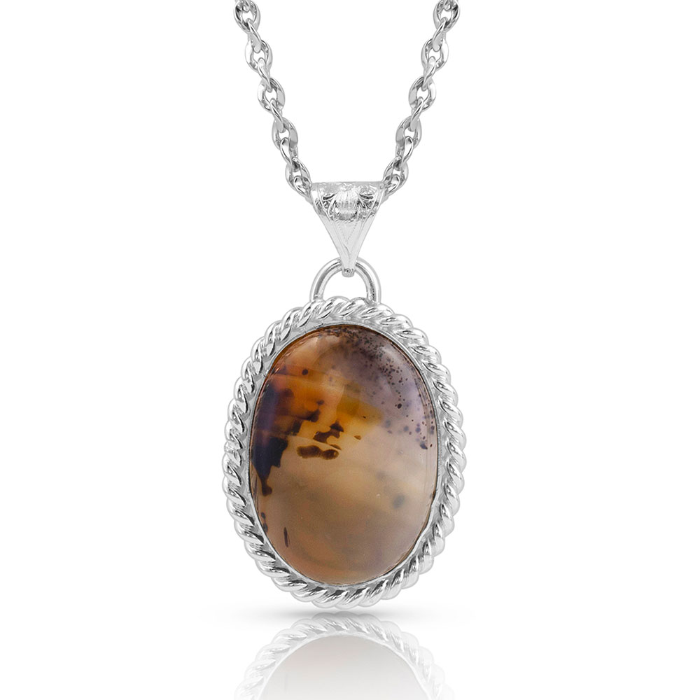 No Two The Same Agate Necklace