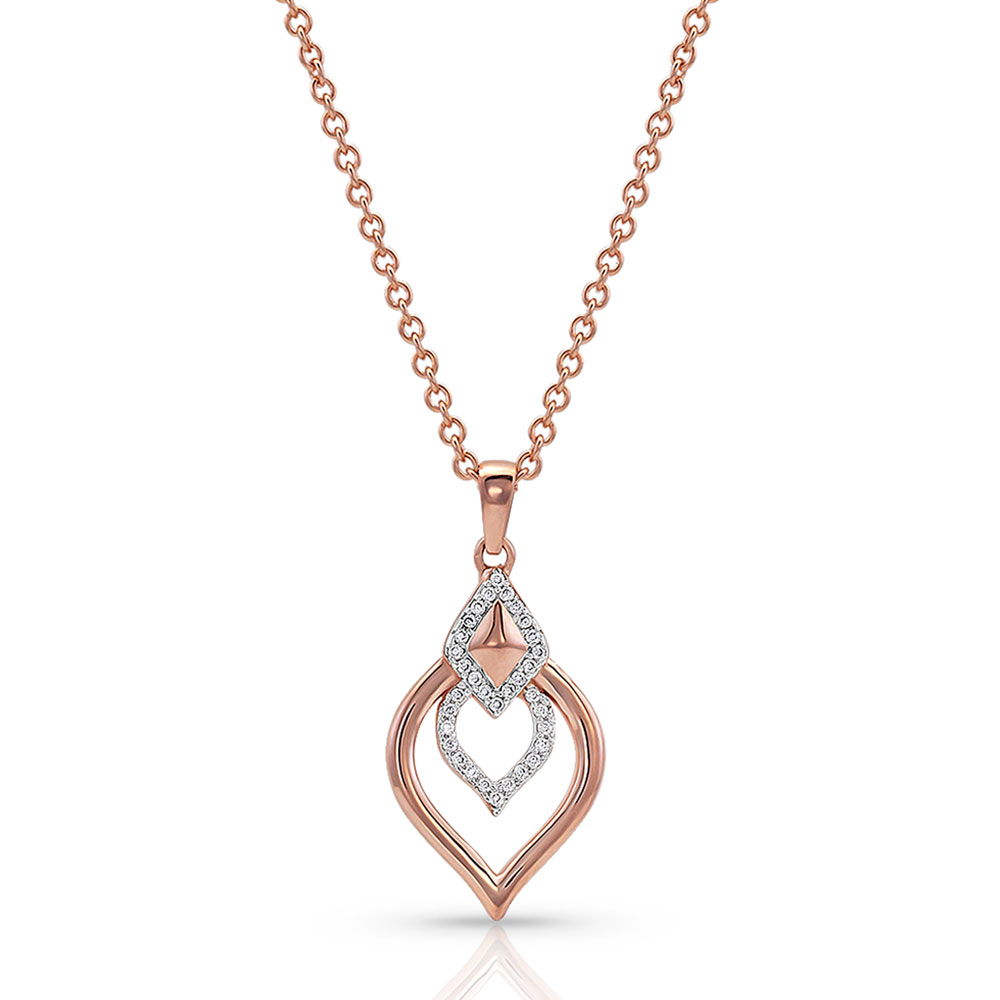 A Touch of Heart Necklace