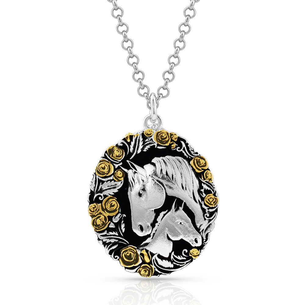 Winner's Circle Horse Necklace