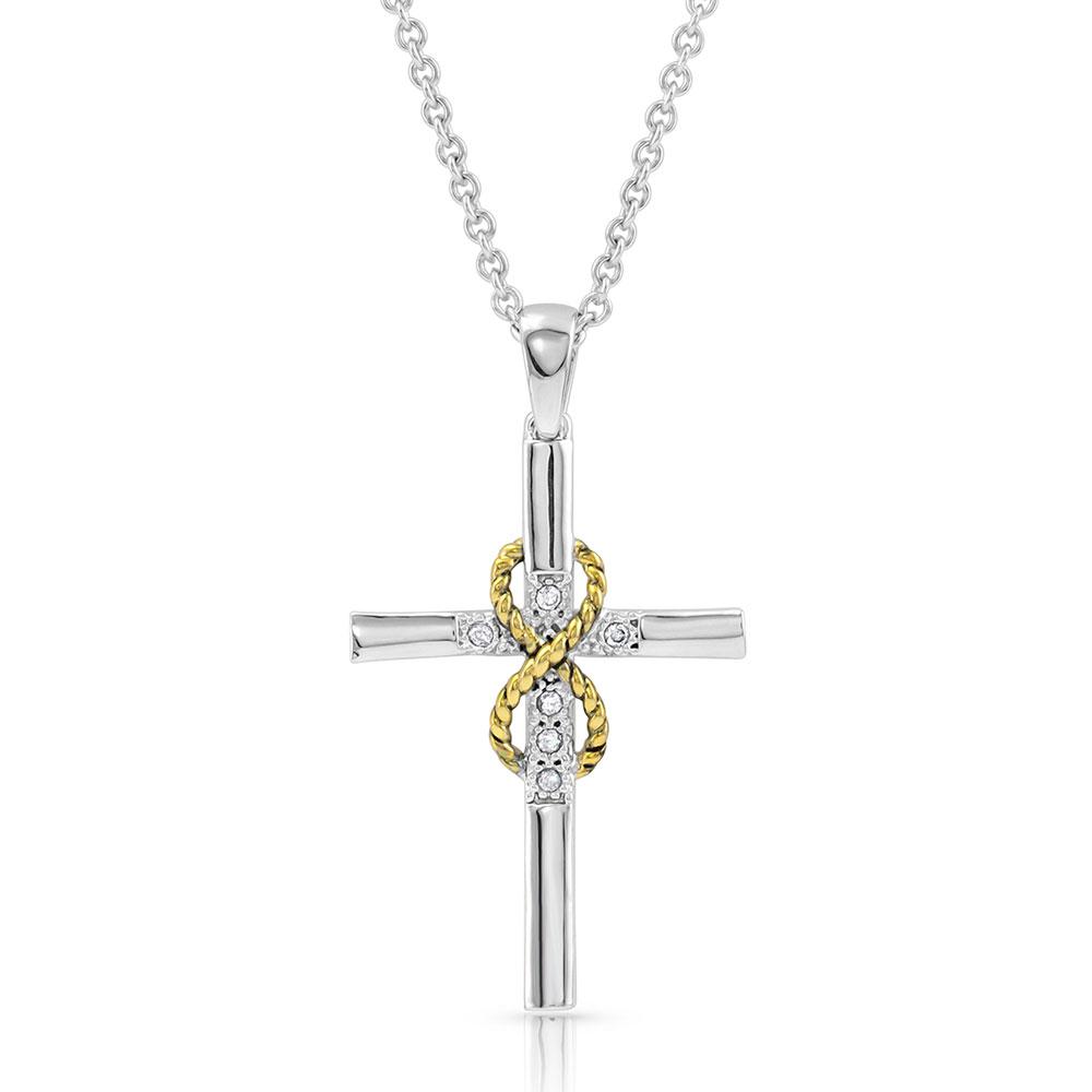 Eternal Faith Cross Necklace