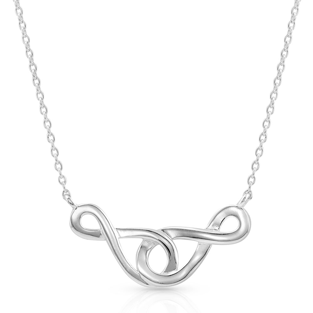 Infinity Times Infinity Necklace