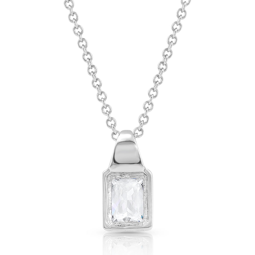 Two Tone Brilliance Necklace