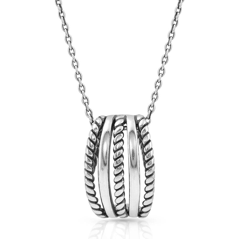 Roped Trio Necklace