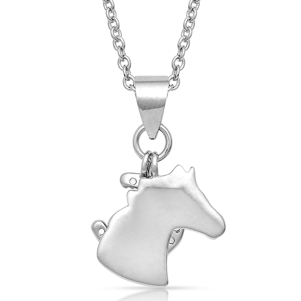 Horsing Around Charm Necklace