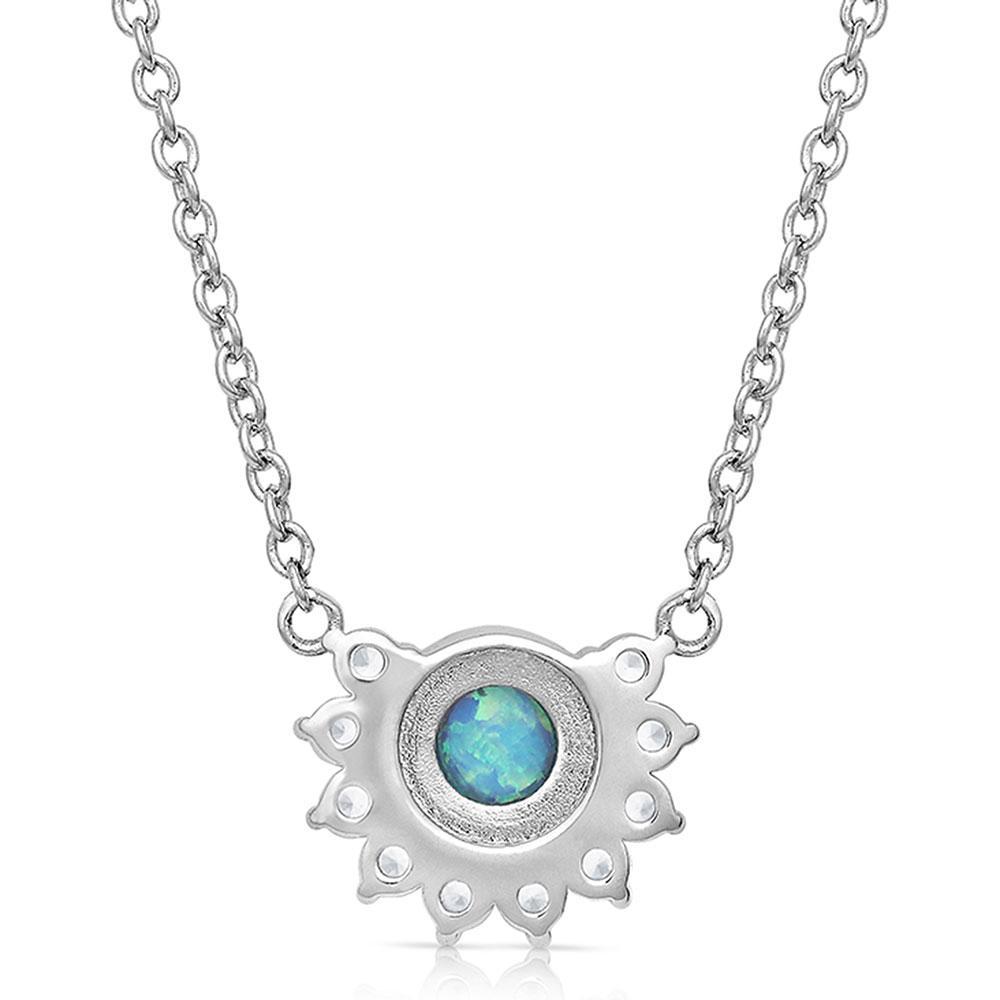Horseshoed Opal World Necklace