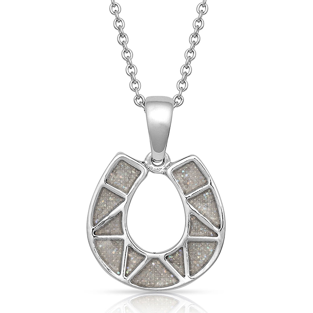 Two Sides To Every Horseshoe Necklace