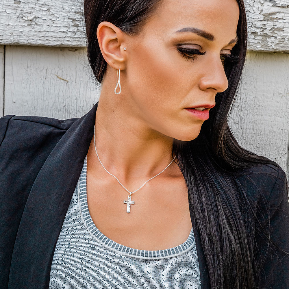Captured In Faith Cross Necklace