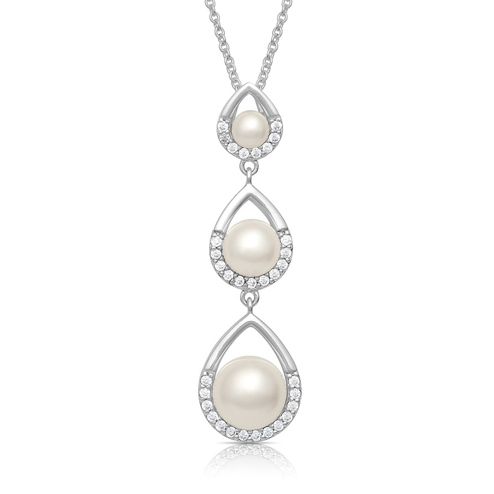Perfect Pearl Teardrop Necklace