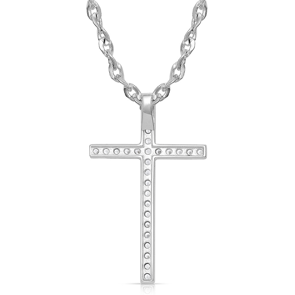 Dazzling in Faith Cross Necklace