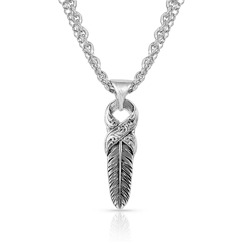 Strength Within Feather Necklace
