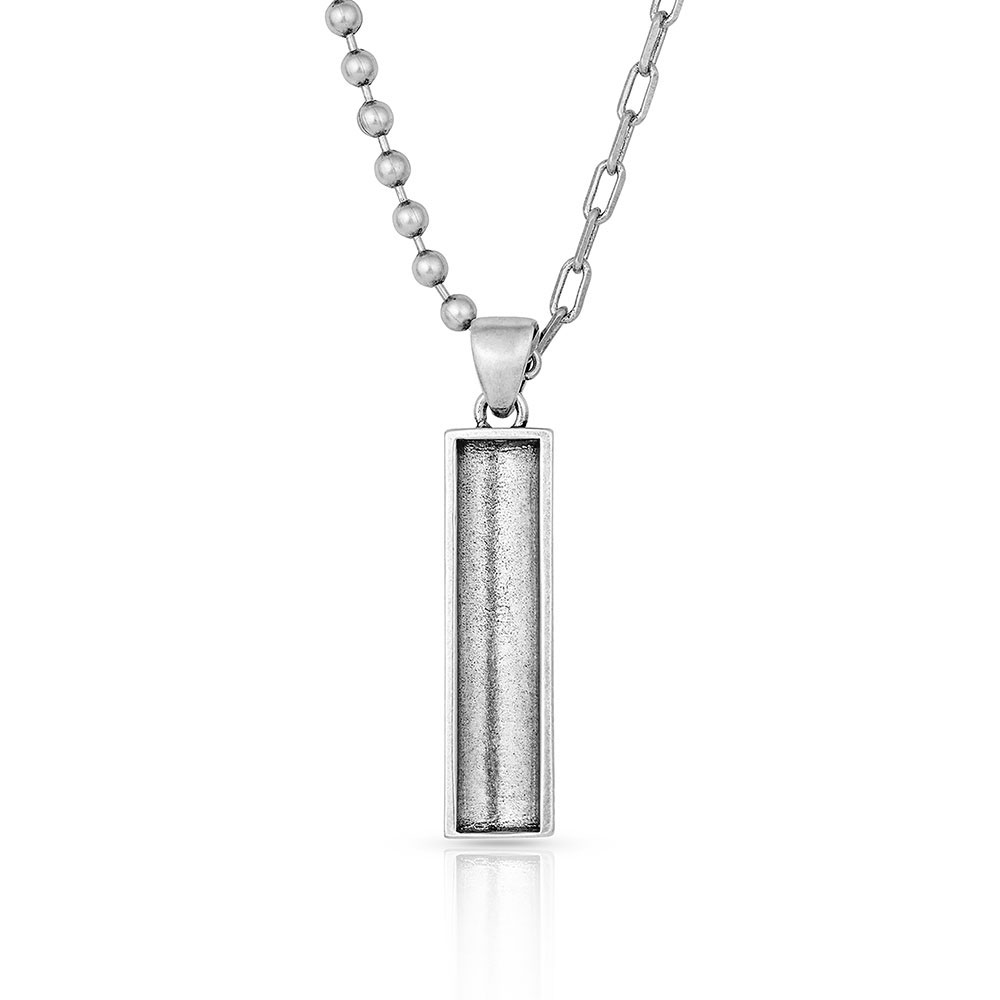 Western Stonehenge Buffed Necklace
