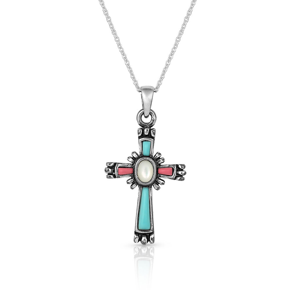 Faith Beaming Cross Necklace