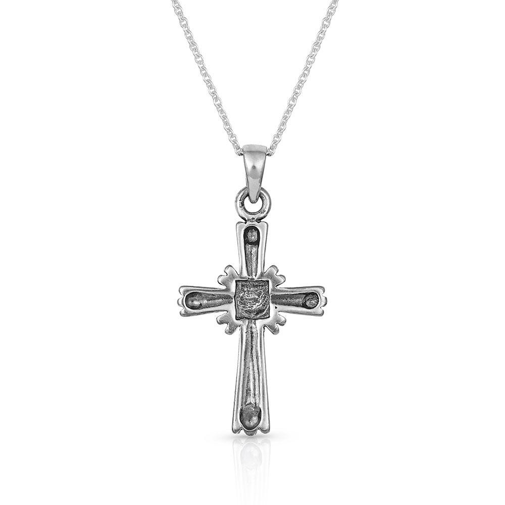 Faith Beaming Cross Necklace