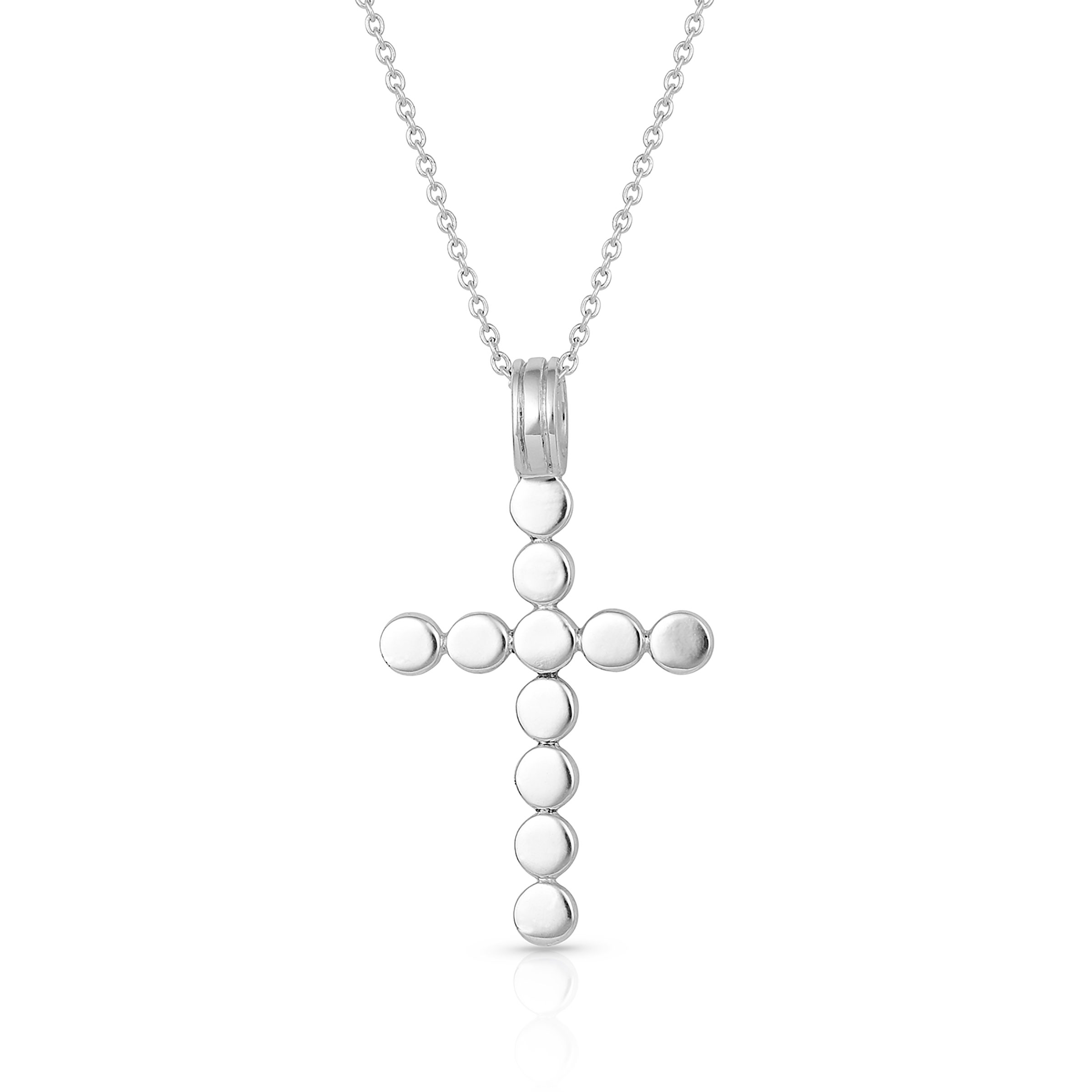 Serendipitous Cross Necklace