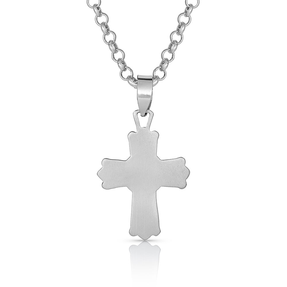 At the Center of Faith Cross Necklace