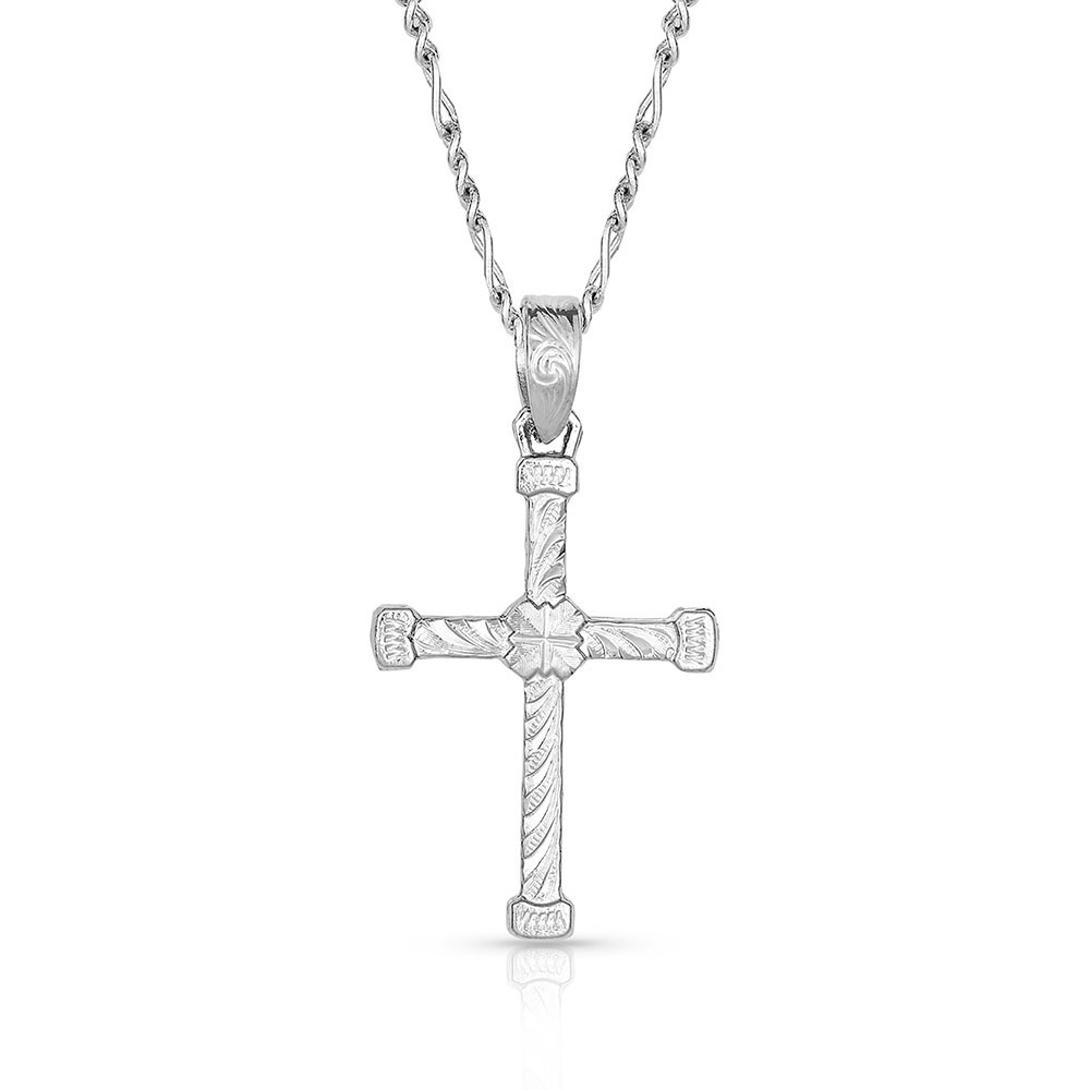 Binding in Faith Cross Necklace