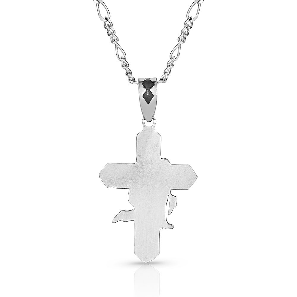 Surrender in Faith Cross Necklace
