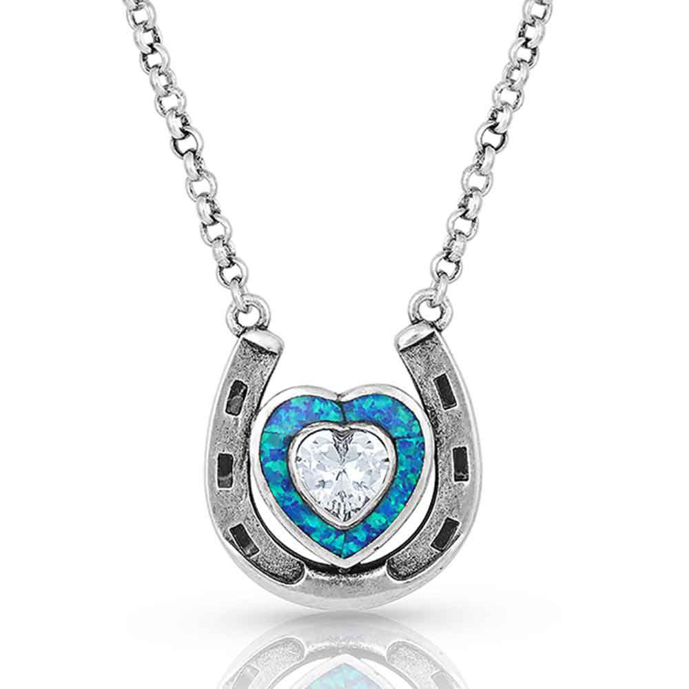The Love Inside Luck Horseshoe Necklace