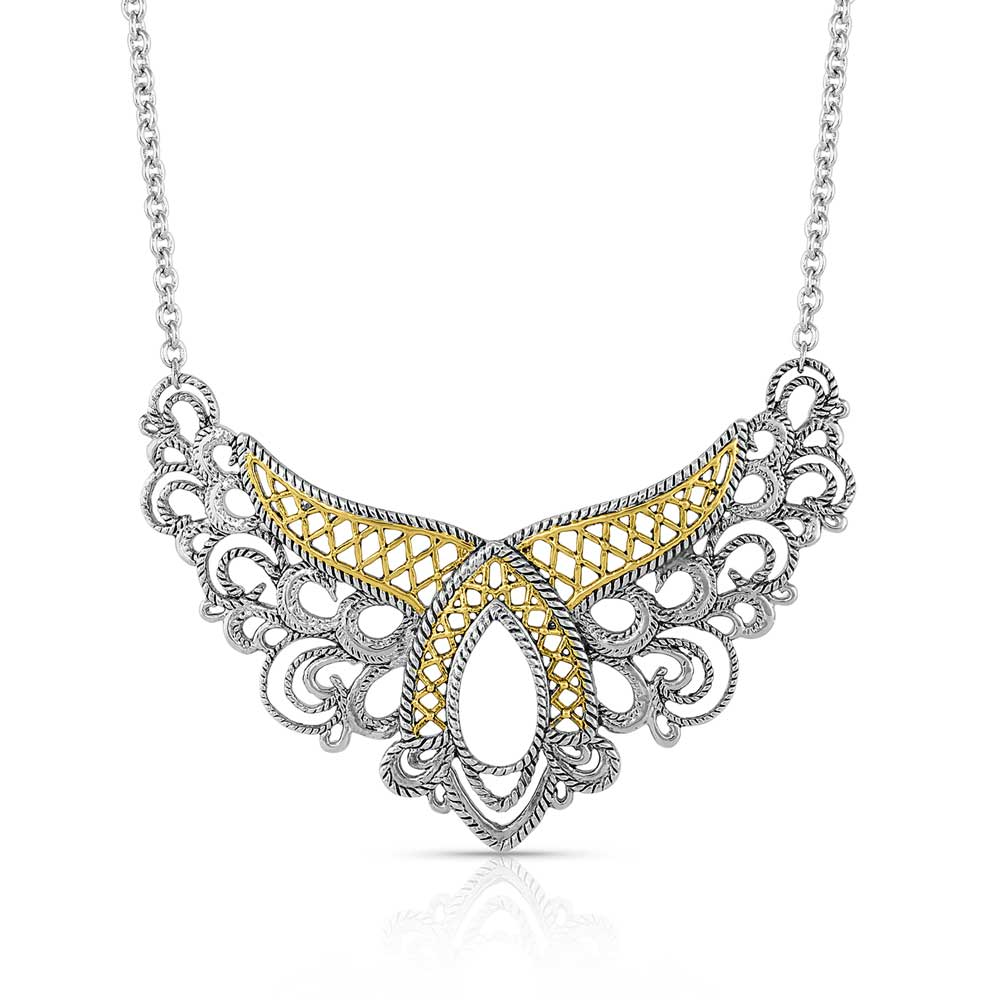 Chantilly Western Lace Necklace