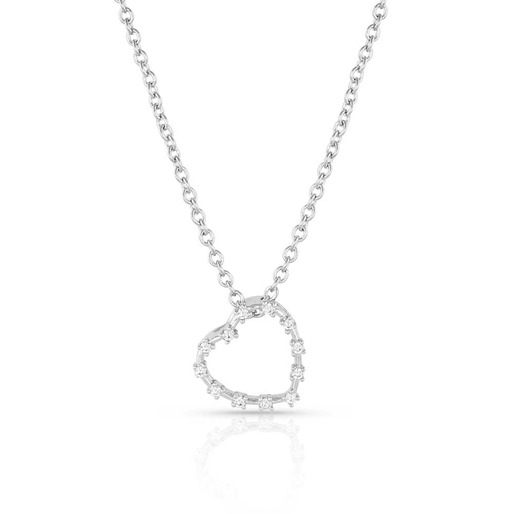 Hanging On Heartstring Necklace