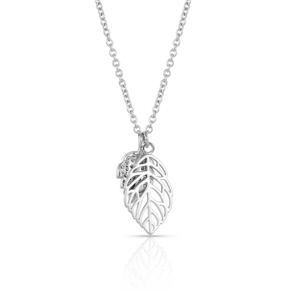 New Growth Silver Necklace