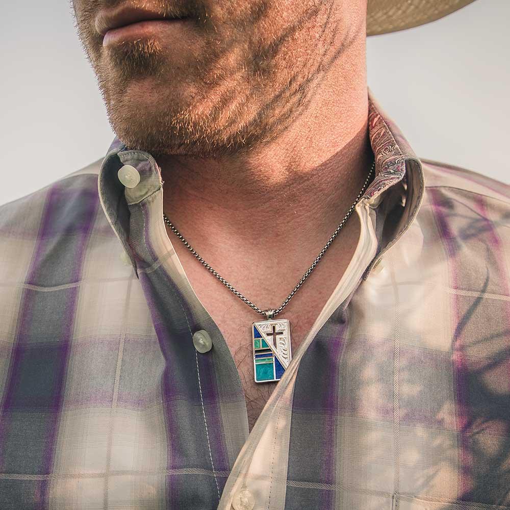 American Legends Cross Pendant Necklace