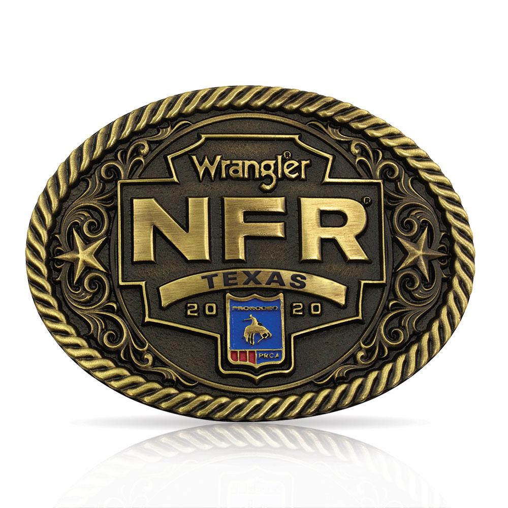 Wrangler NFR Texas Attitude Buckle
