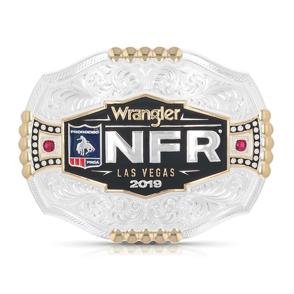2019 WNFR Framed Logo Buckle
