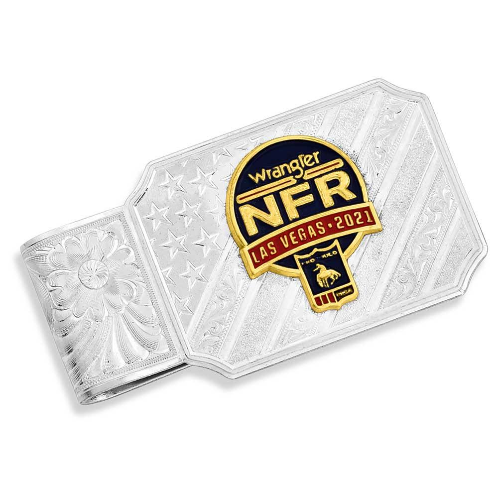 NFR 2021 Silver Money Clip