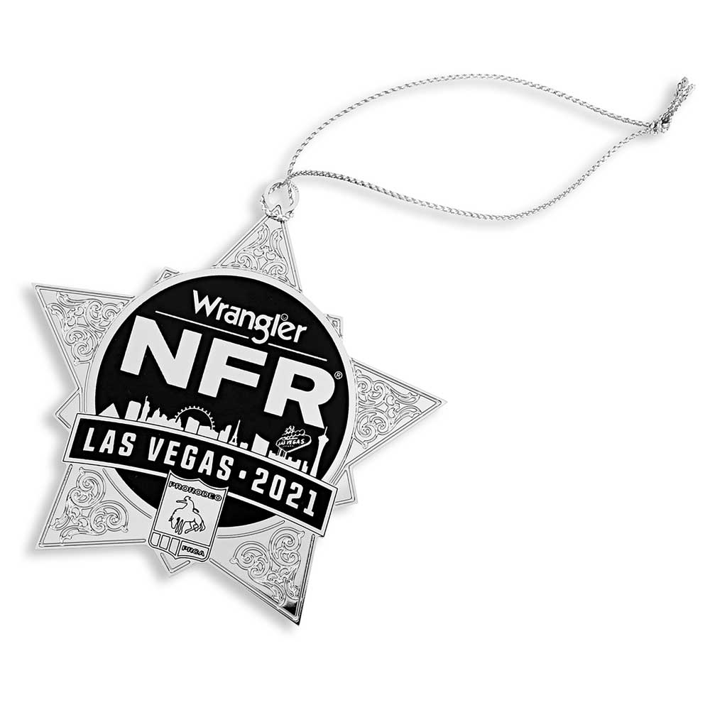 NFR 2021 Star Ornament