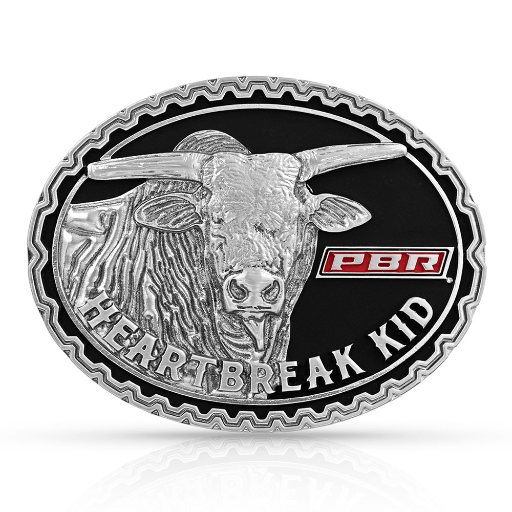 Heartbreak Kid PBR Bull Attitude Buckle