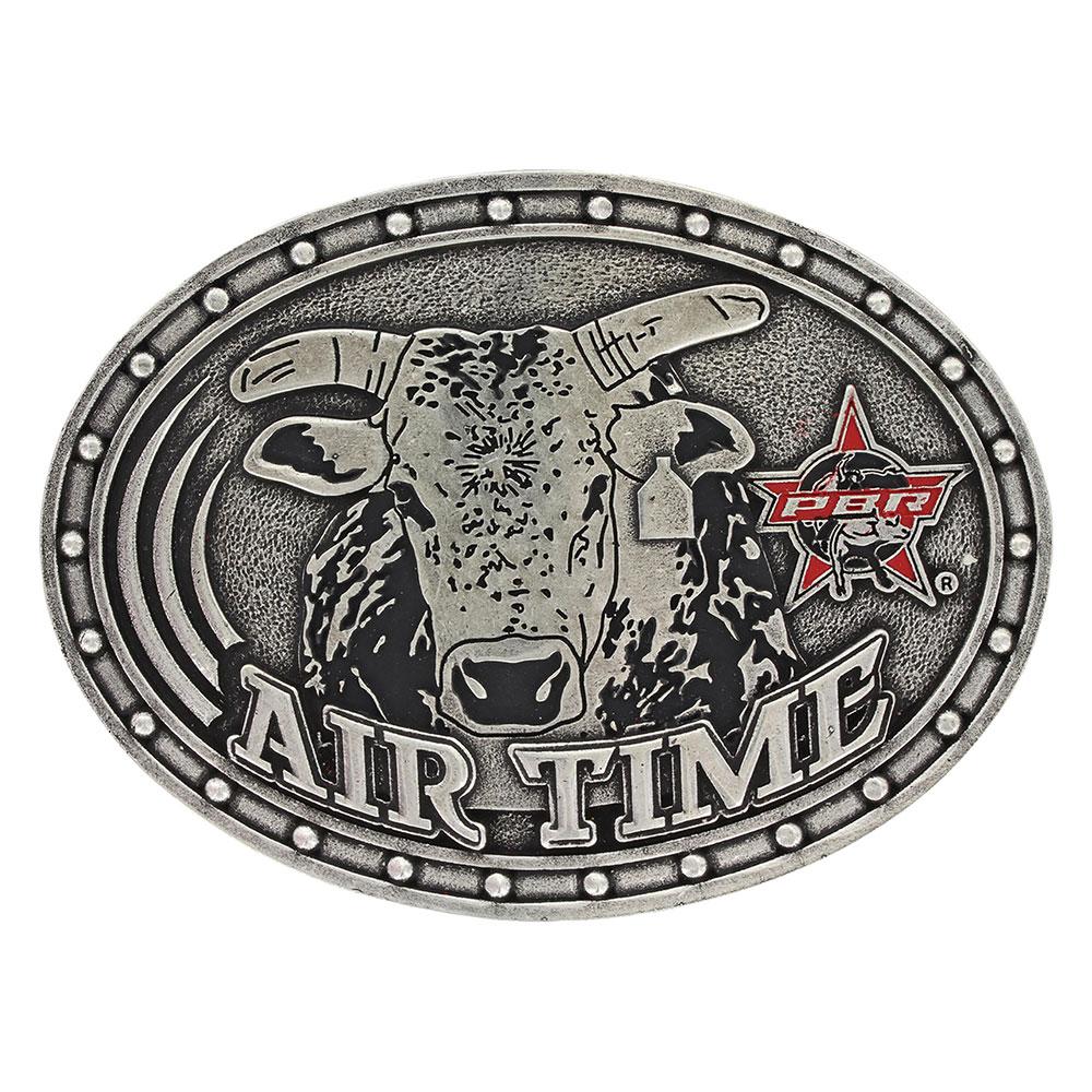 PBR Airtime Bull Attitude Buckle