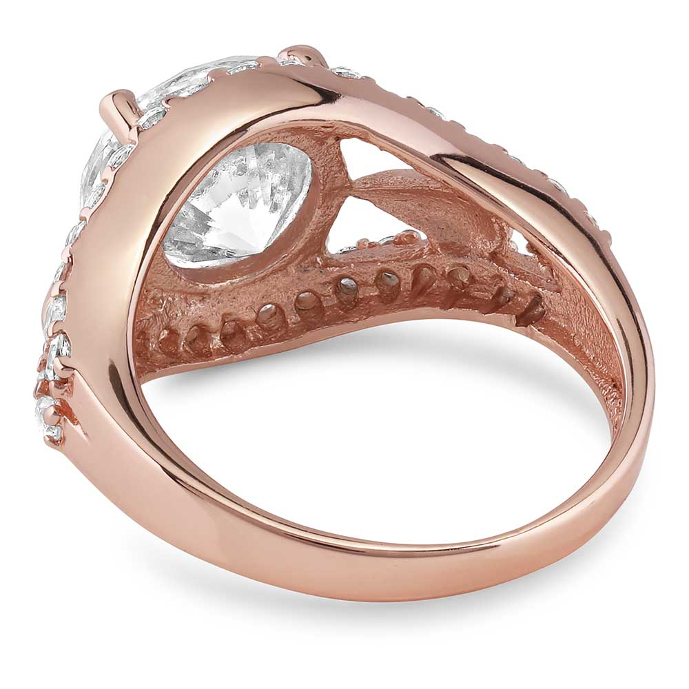 First Star At Sunset Rose Gold Ring