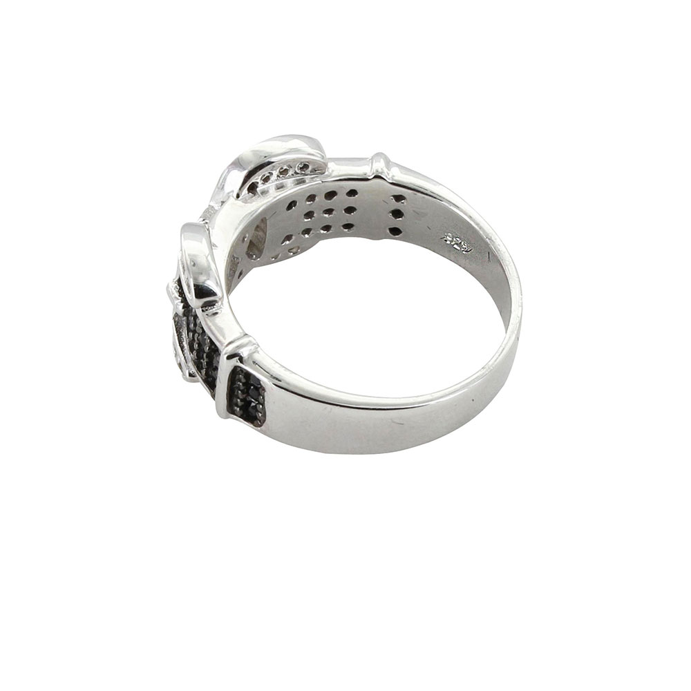 Double Buckle Ring