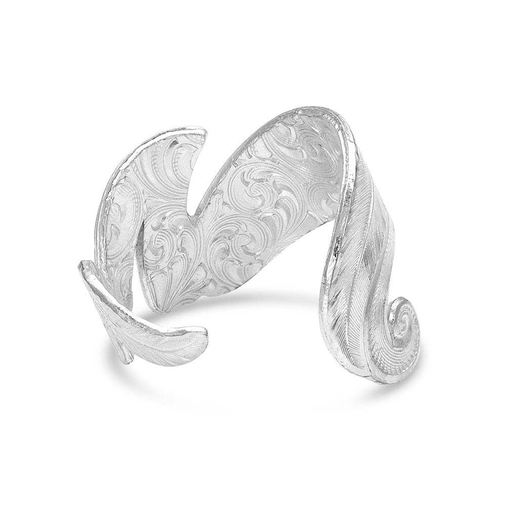 Free Spirit Adjustable Feather Ring