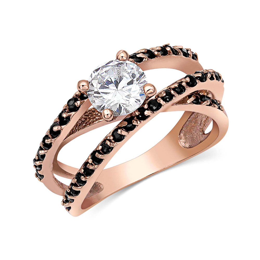 Stand Alone Rose Gold Ring