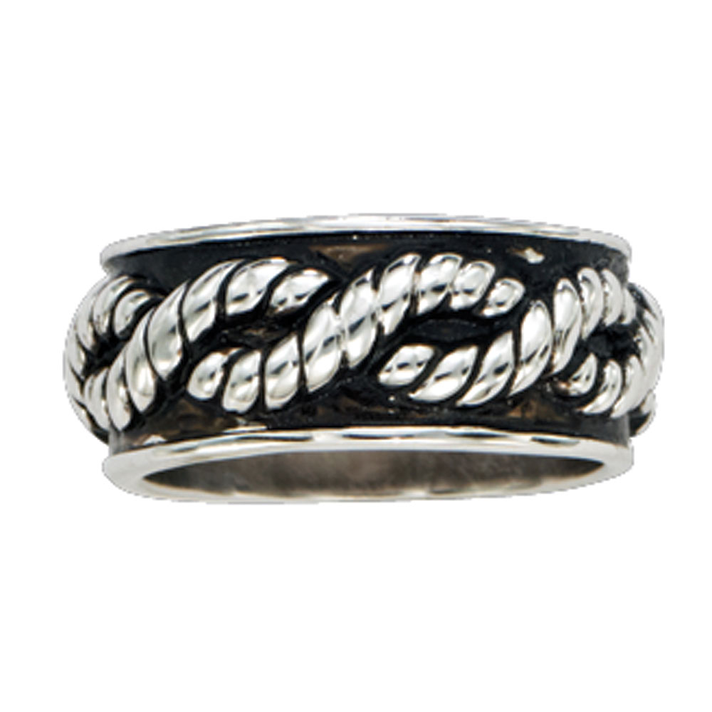 Braided Rope Band Ring