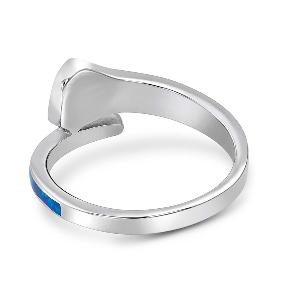 River of Lights Horseshoe Nail Ring