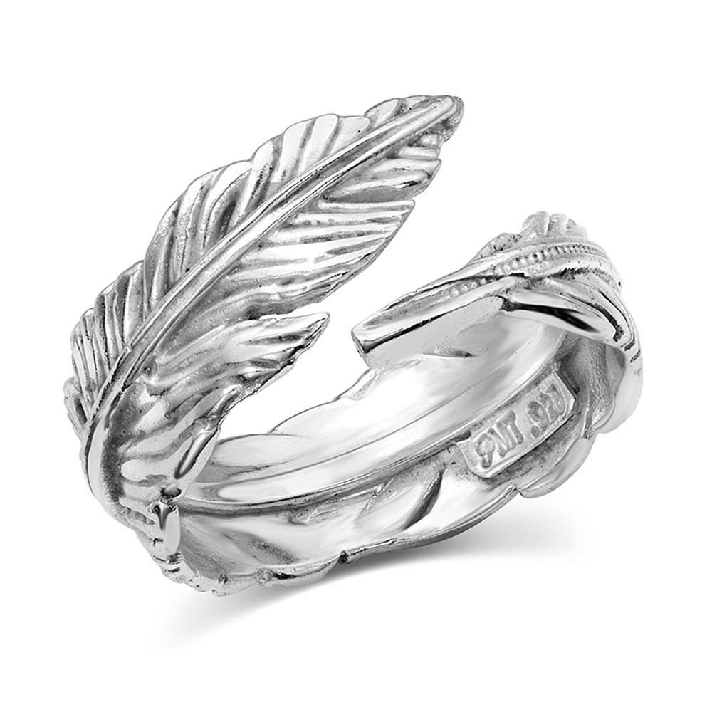 Joyful Feather Ring