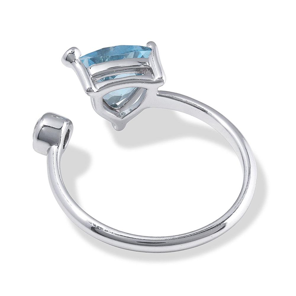 Azure Trillion Wrap Ring