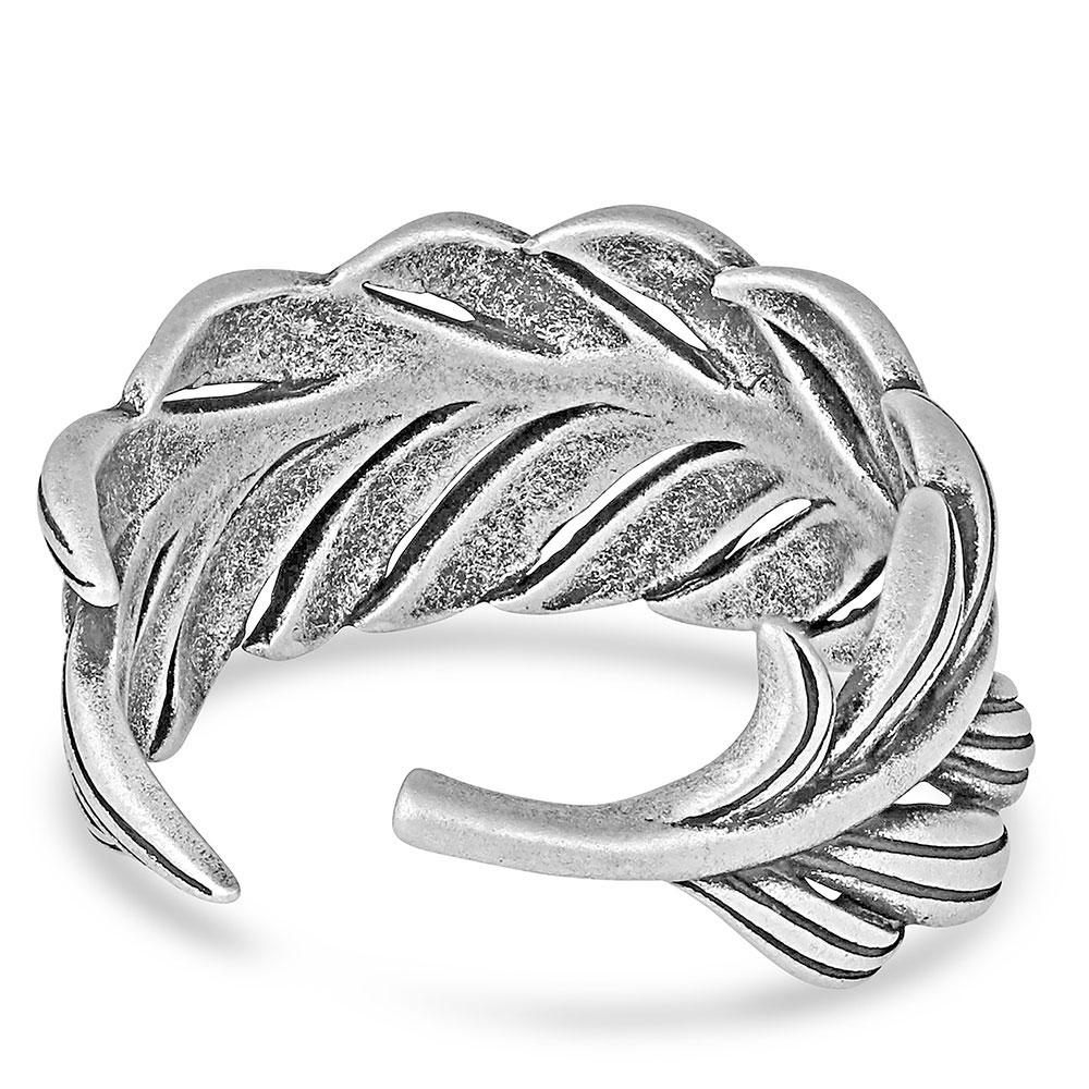 The Frayed Singleton Wrap Ring