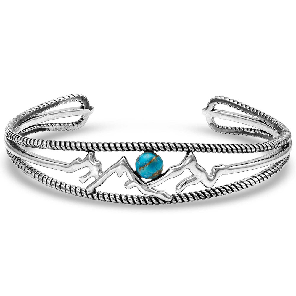 Pursue the Wild Another Mountain Turquoise Cuff Bracelet