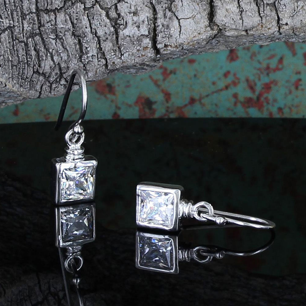 Pursue the Wild Points of Reflection Earrings