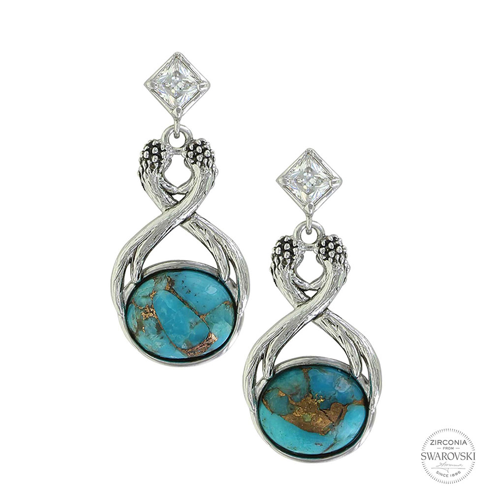 Pursue the Wild High Spirits Turquoise Earrings